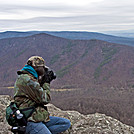 Michele at Rock Point Overlook on the AT near Dripping Rock in VA by Mushroom_Mouse in Views in Virginia & West Virginia