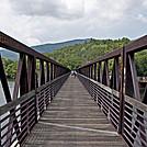 James River Foot Bridge by Mushroom_Mouse in Trail & Blazes in Virginia & West Virginia