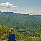 Natalie at Three Ridges Wilderness