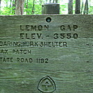 Lemon Gap by S'more in Trail & Blazes in North Carolina & Tennessee