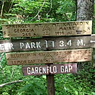 Garenflo Gap by S'more in Trail & Blazes in North Carolina & Tennessee