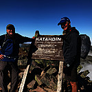 Katahdin Summit 2 Mile and MIA