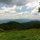View from climb after NOC by MIA in Section Hikers
