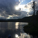 Sunset at Ethan's Pond NH