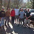 At Deep Gap the Brott Trail Magic Team by MIA in Section Hikers