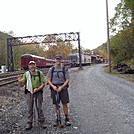 Arriving at Port Clinton by MIA in Section Hikers