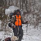 overnight hiker on wesser 10/31/2012
