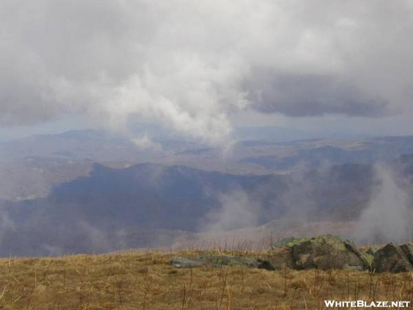 From the Bald north of Carver\'s Gap