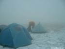 On Hump in the whiteout. by Hiking Rooster in Views in North Carolina & Tennessee