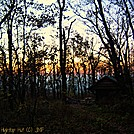 Hightop Hut at Sunset Oct 2012 by virginia jen in Views in Virginia & West Virginia