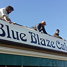 Blue Blaze Damascus by blue blaze cafe in Virginia & West Virginia Trail Towns