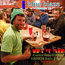 Grinch....hot wing challenge best time holder to date by blue blaze cafe in Virginia & West Virginia Trail Towns