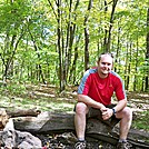 Me at Iron Mtn Shelter  by Drakken in North Carolina & Tennessee Shelters