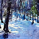 Late Snow Near Springer Mountain by smeagher61 in Members gallery