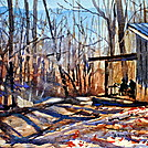 Sassafras Gap Shelter by smeagher61 in Members gallery