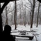 Springer Mtn Shelter - First Snow