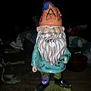 The Gnome of the trail... by MadisonStar in North Carolina & Tennessee Shelters