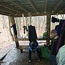 Sassafras Shelter.. by MadisonStar in North Carolina & Tennessee Shelters