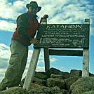 My hike up Mt. Katahdin by Nomadog in Katahdin Gallery