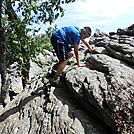 Chimney Rocks by Teacher & Snacktime in Trail & Blazes in Maryland & Pennsylvania
