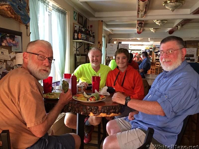 Trail Magic Bag Delivery, Monson, ME - July 2014