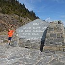 Blue Ridge Parkway - May 2014