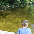 Upper Goose Pond Cabin - August 2014 by Teacher & Snacktime in Massachusetts Shelters
