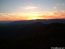 Sunset on Wesser Bald by Whistler in Views in North Carolina & Tennessee