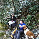 My mom and I, and a random dog... by Kari Clancy in Thru - Hikers