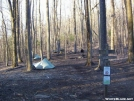 Camp at Jarrard Gap