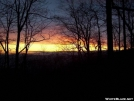 Sunrise from Blue Mtn Shelter. by BackcountryDave in Views in Georgia