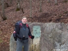 Section hiker Glen from TN