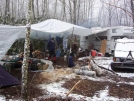 Trail Magic Base Camp by BackcountryDave in Special Points of Interest