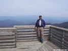 Backcountry Dave atop Wesser Bald Fire Tower. by BackcountryDave in Faces