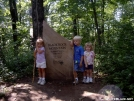 Rainman's kids at the summit of Black Rock Mountain. by Rainman in Day Hikers