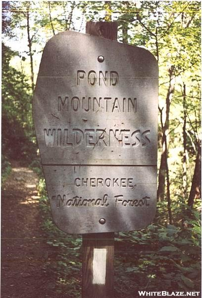 Pond Mountain Sign
