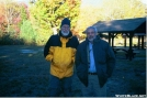 Gray Panter and Leon Hale at Katahdin Stream......2004 by Slimer in Thru - Hikers