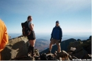 Sundown and Shivers on Katahdin....Oct-2-04 by Slimer in Thru - Hikers
