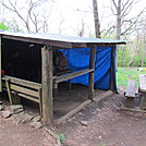 Siler Bald Shelter by Momma Duck in North Carolina & Tennessee Shelters