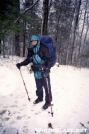 Footslogger (Toot) in the sno by Bad Ass Turtle in Thru - Hikers