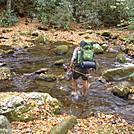 Deep Creek crossing Oct 2013