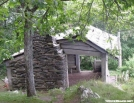 Rocky Knob Shelter on BRP in VA by Groucho in Special Points of Interest