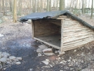 Old Peters Mountain Shelter by Green Bean in Maryland & Pennsylvania Shelters