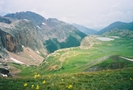 View from the Continental Divide by Bearpaw in Colorado Trail