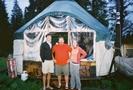 CT Friends' Yurt by Bearpaw in Colorado Trail