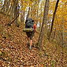 Cookerhiker on Allegheny Trail