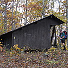 Marlin Mountain Shelter on Allegheny Trail