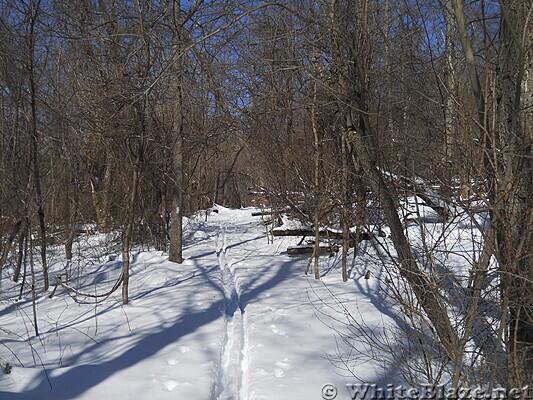 Snowshoe hike on AT in Shenandoah National Park