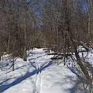 Snowshoe hike on AT in Shenandoah National Park