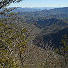 Nantahala Gorge from Swim Bald by Cookerhiker in Views in North Carolina & Tennessee